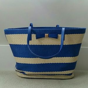 "Kate Spade ""Wicklow Court"" Anabette Striped Tote"